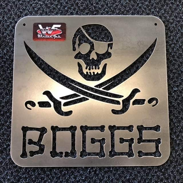 Image of Pirate / Jolly Roger Sign - Personalized