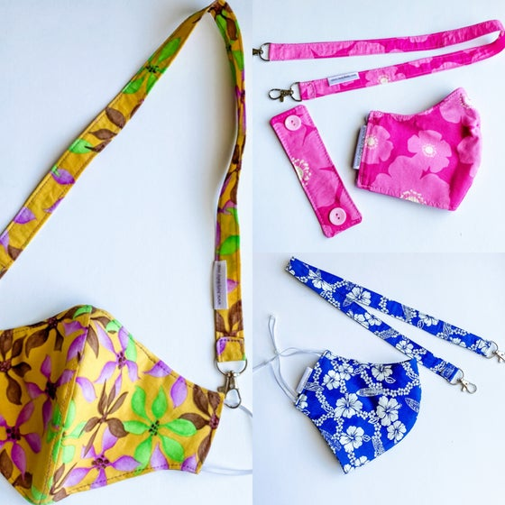 Image of Mask Leash/ Lanyard (Fabrics 1-64)