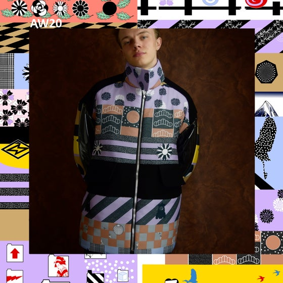 Image of AW20 - PRINTED PUFFER JACKET