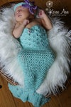 Newborn Mermaid Outfit (MADE TO ORDER)