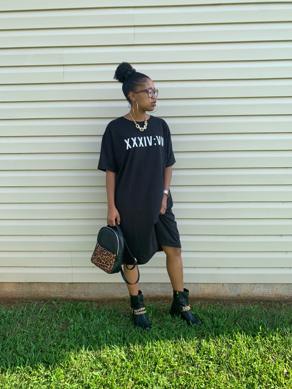 Image of Psalm348 T-shirt Dress