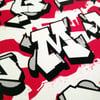 Streetfont Alphabet - Silkscreen Print