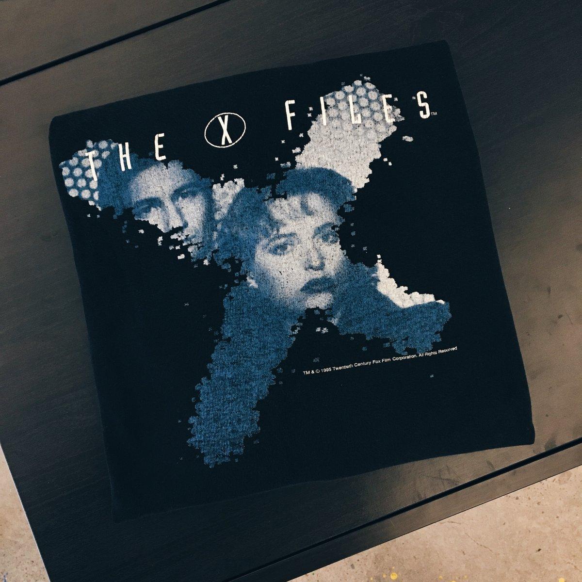 Image of Original 1995 The X-Files Tee.