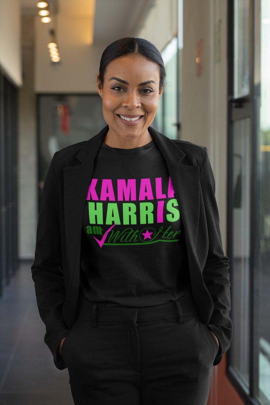 "Image of Kamala Harris ""I AM WITH HER"""