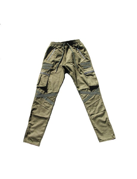 Image of Army Green Special Force Tactical Cargo Pants