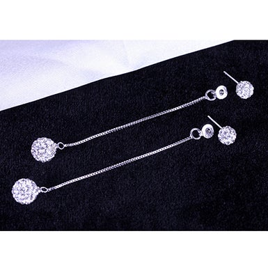 "Image of ""Ball and Chain"" Earrings"