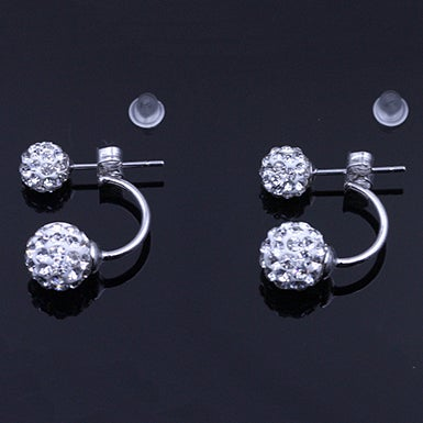 "Image of "" Dew Drop In"" Earrings"