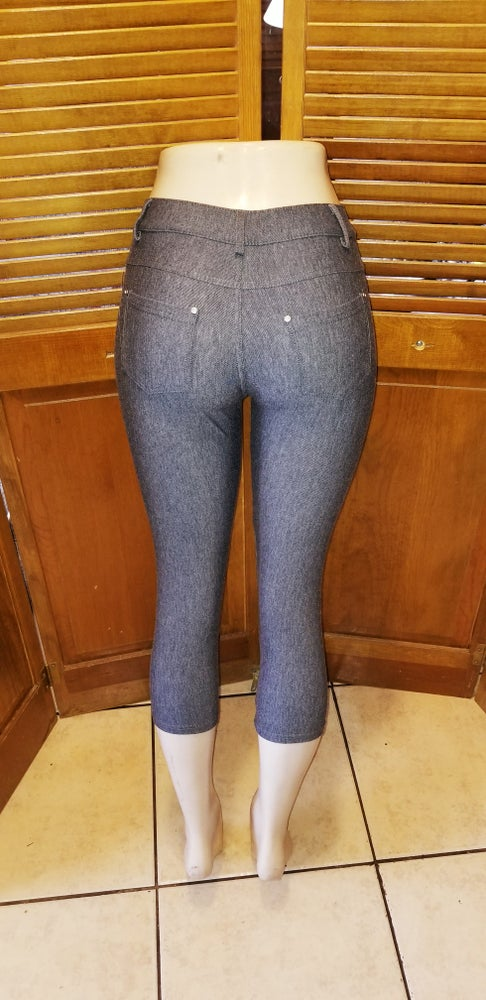 Image of One size grey jeans Leggings