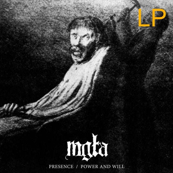 "Image of MGŁA - 'Presence/ Power and will' 12""LP"