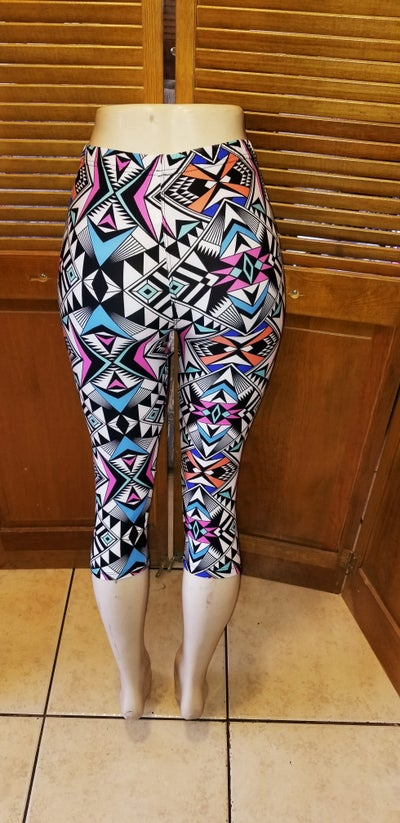Image of One size 80s art Leggings