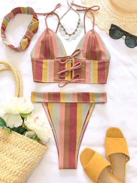 Image of Gold Stripe set
