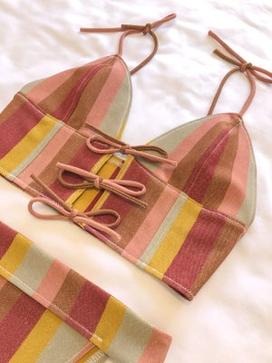 Image of Gold Stripe set