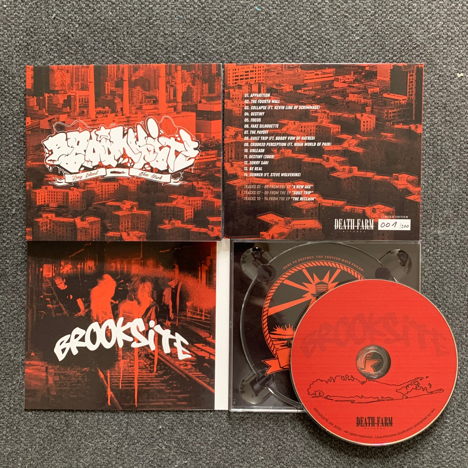Image of Brooksite - The Collection (Discography) CD Digipack