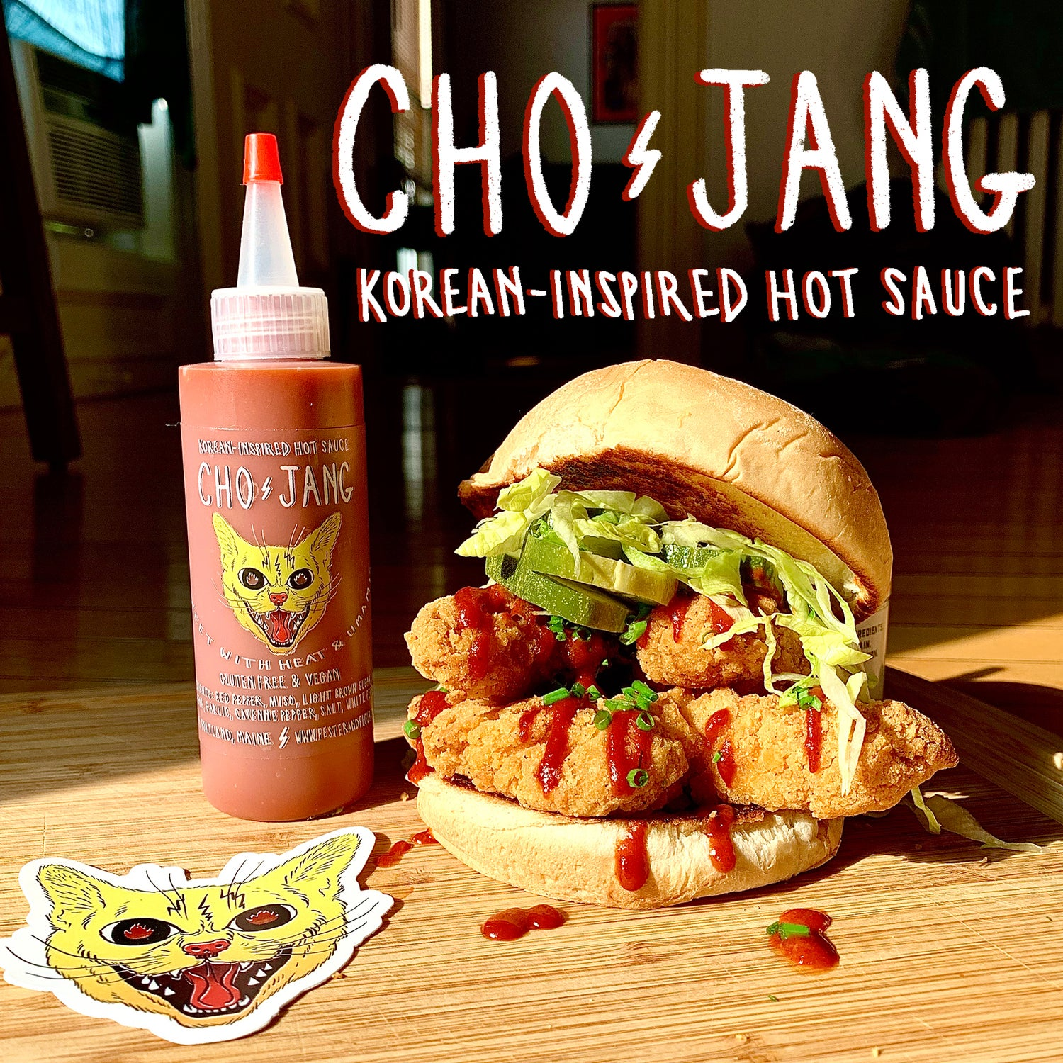 Image of CHO-JANG Hot Sauce (4 oz.)