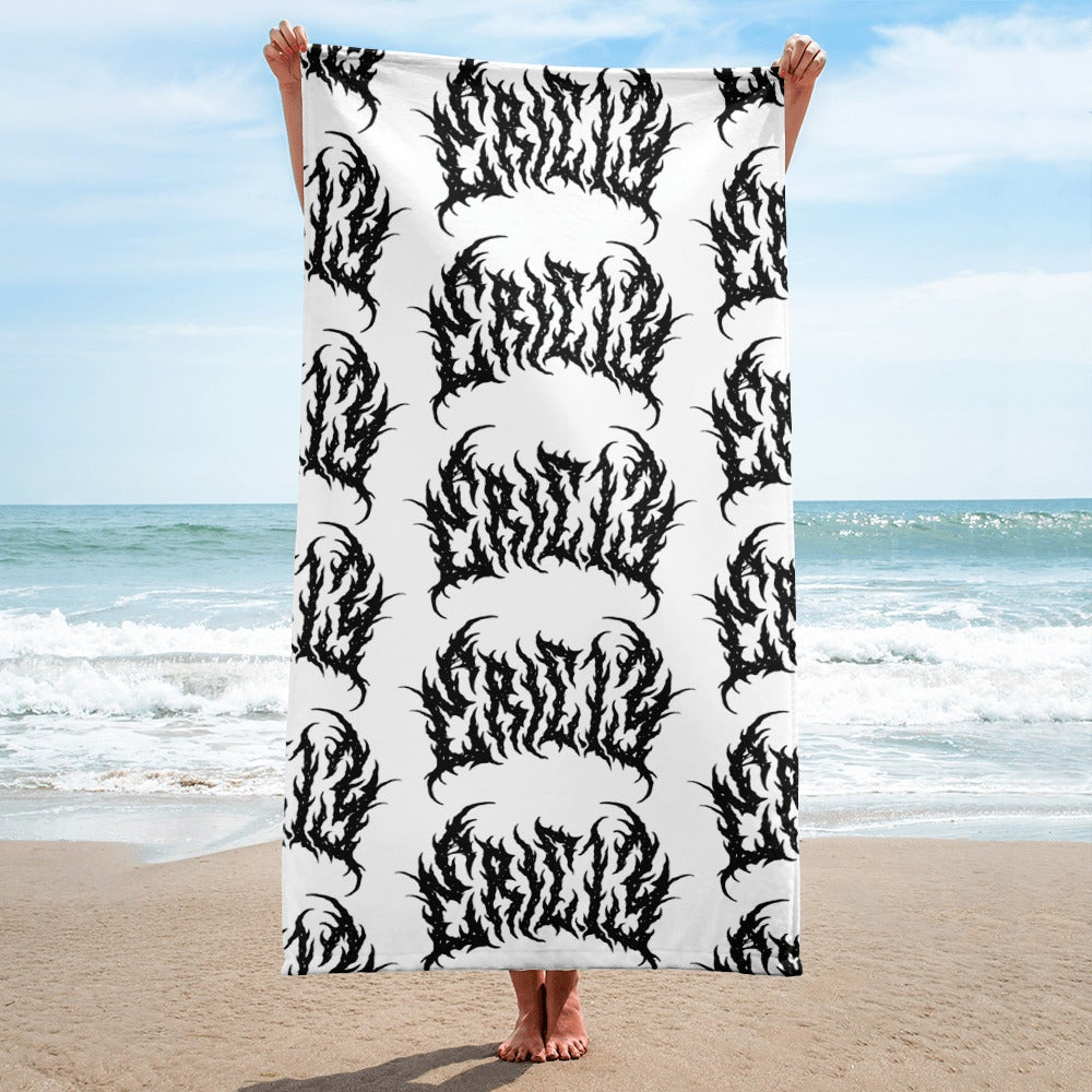 Image of BLACK LIPSTICK LOGO Towel