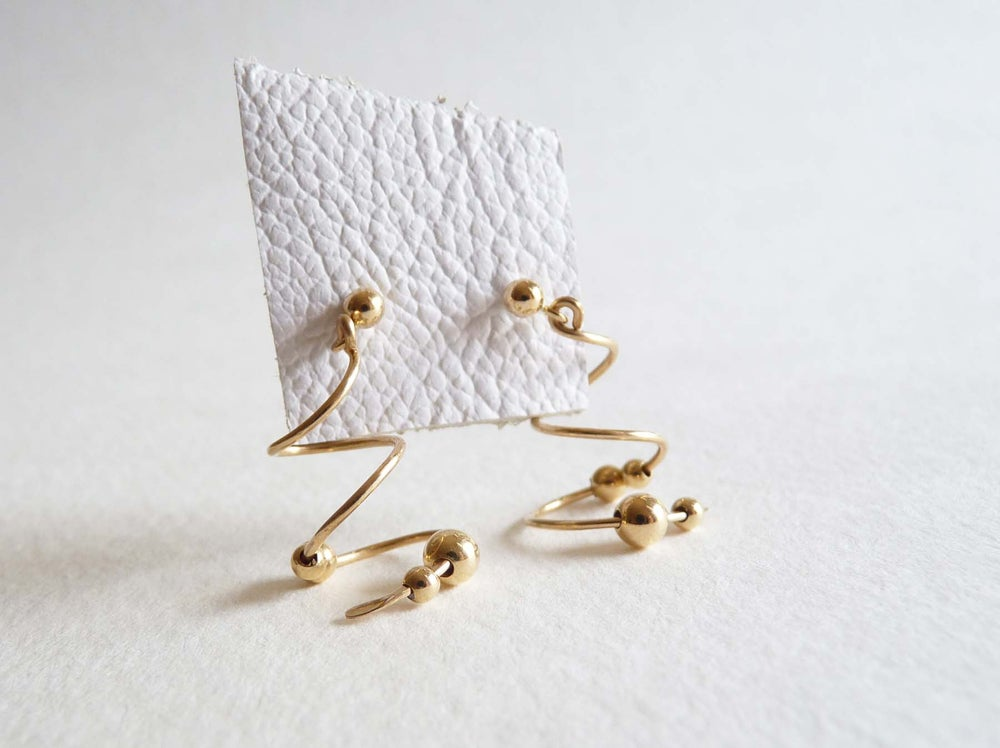Image of Spiral earrings