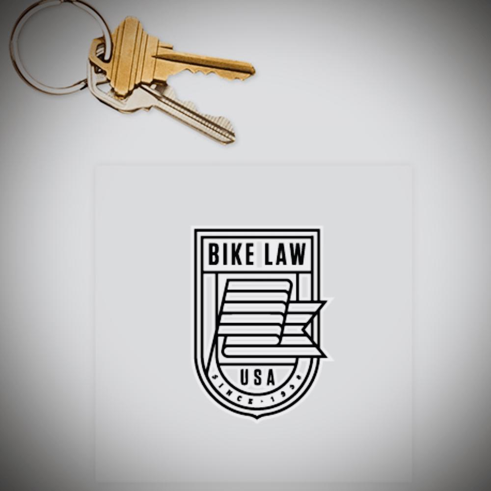 Image of Bike Law Window Cling