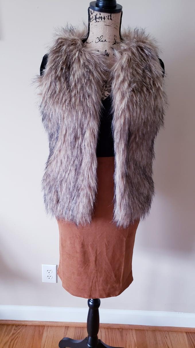Image of Faux Fur Vest