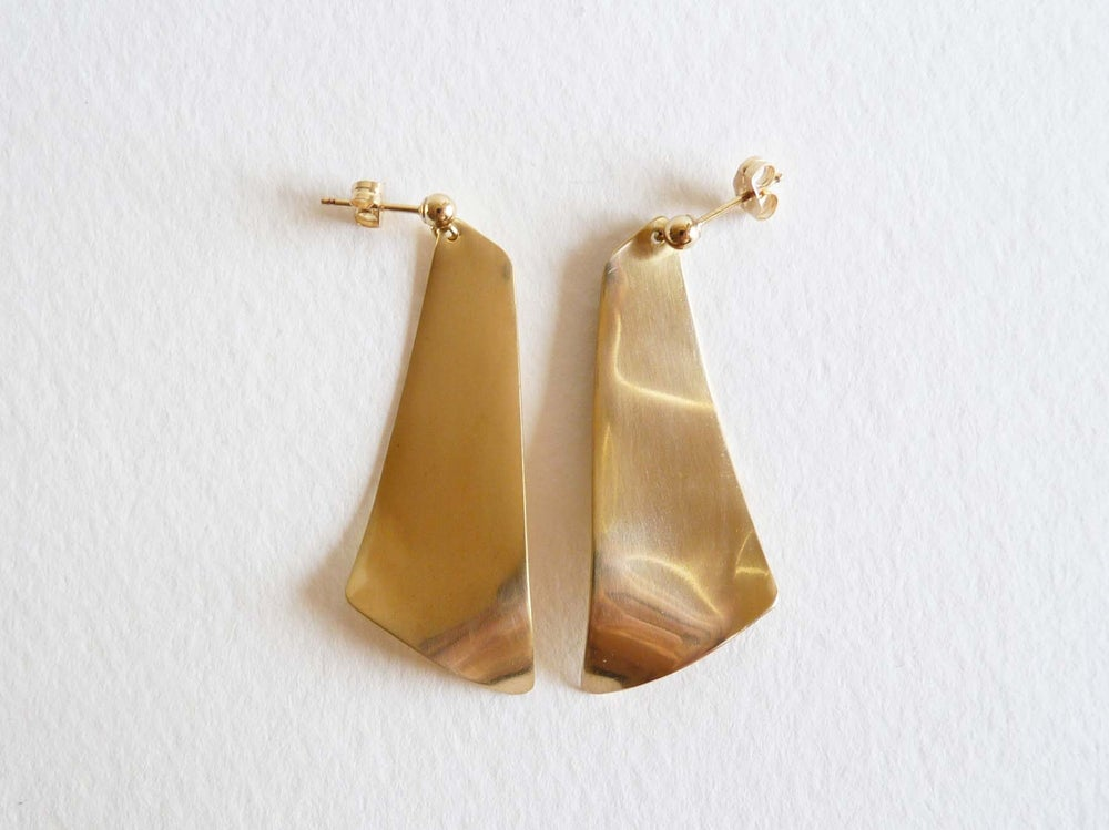 Image of Trapeze earrings