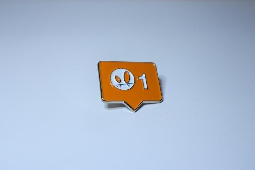 Image of SHRUG_LIKE Pin