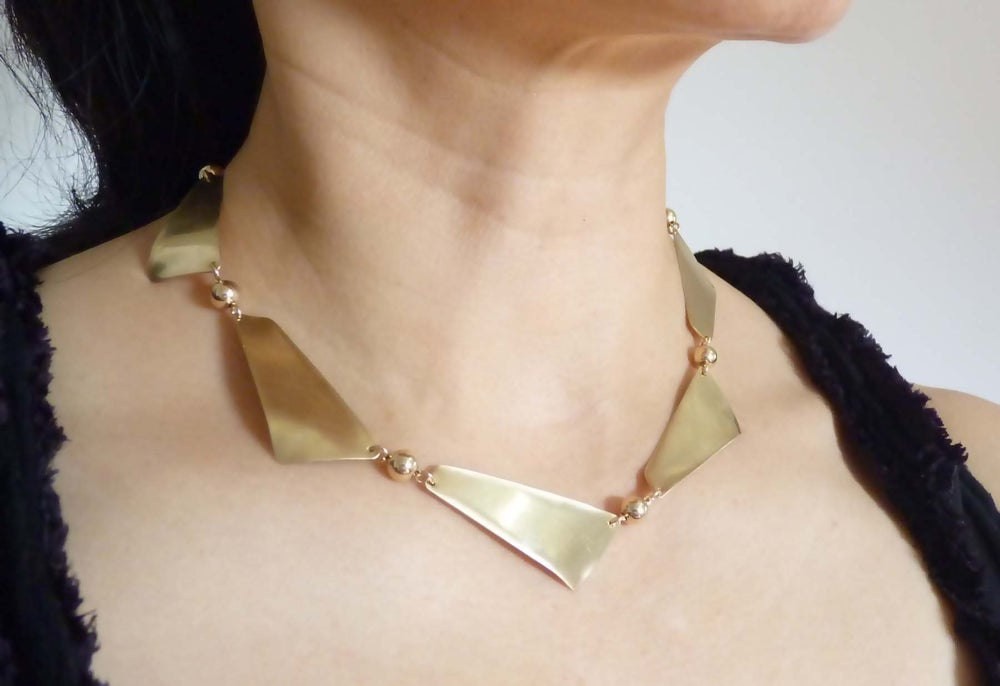 Image of Strata necklace