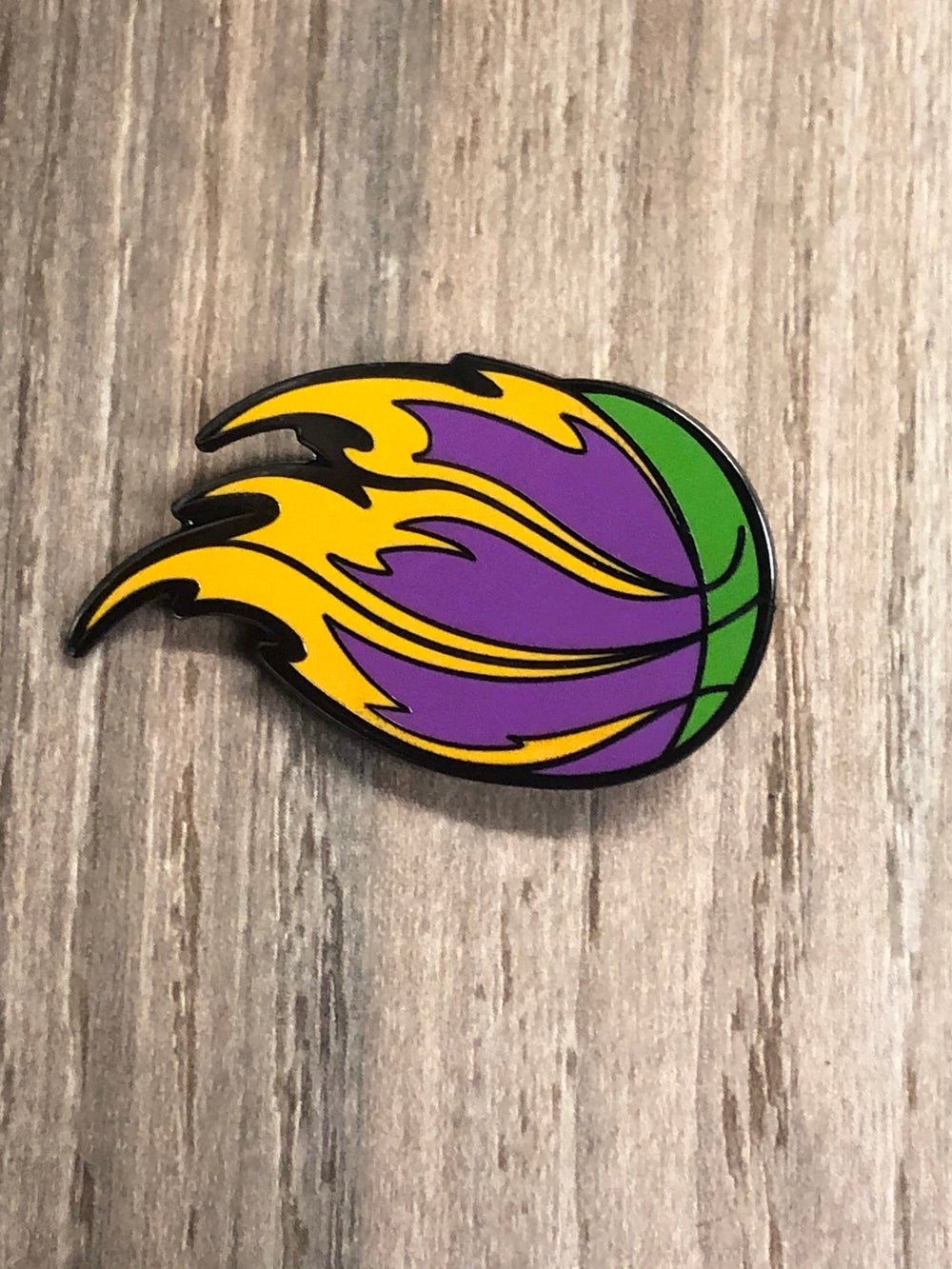 Image of BASKETBALL PIN x TRIPPYPINS