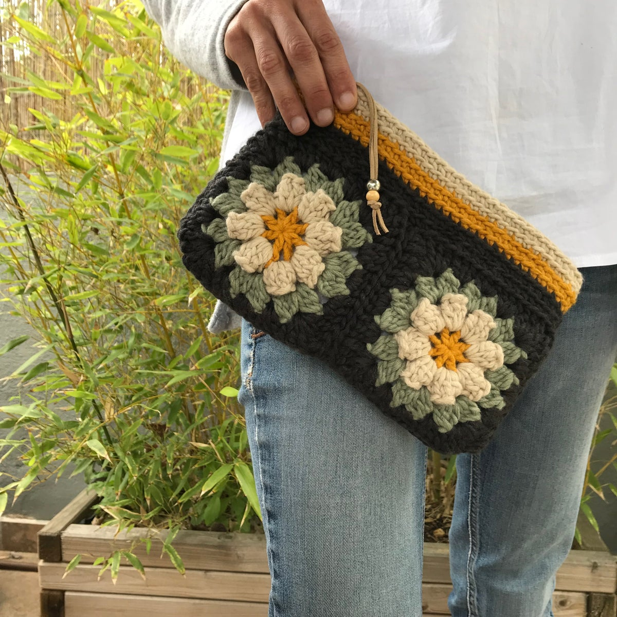 Image of Patrón FLOWER GRANNY Clutch