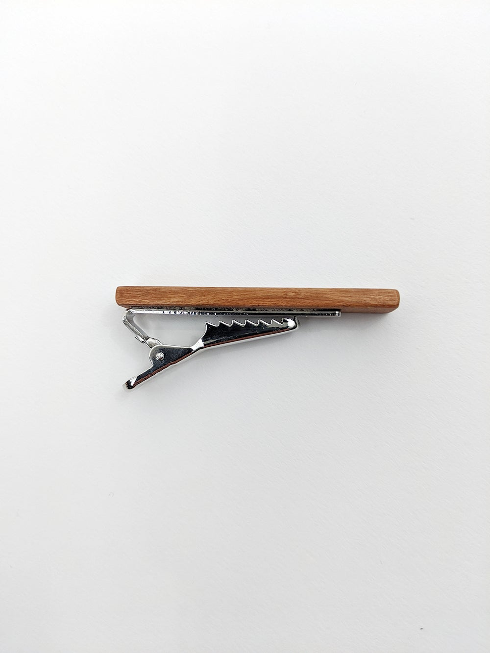 The Silent Pine's Hand Made Wood tie clips