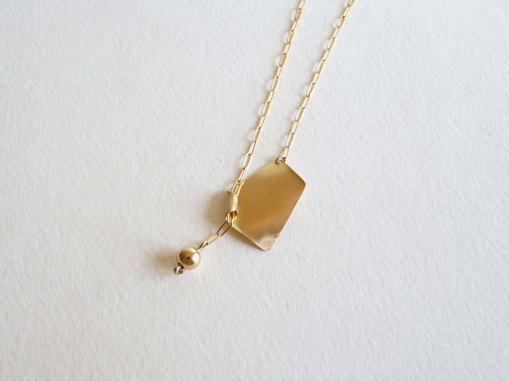 Image of Shield necklace