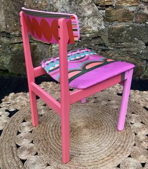 Image of Disc'o' Pink/Sage * 60's G Plan Chair