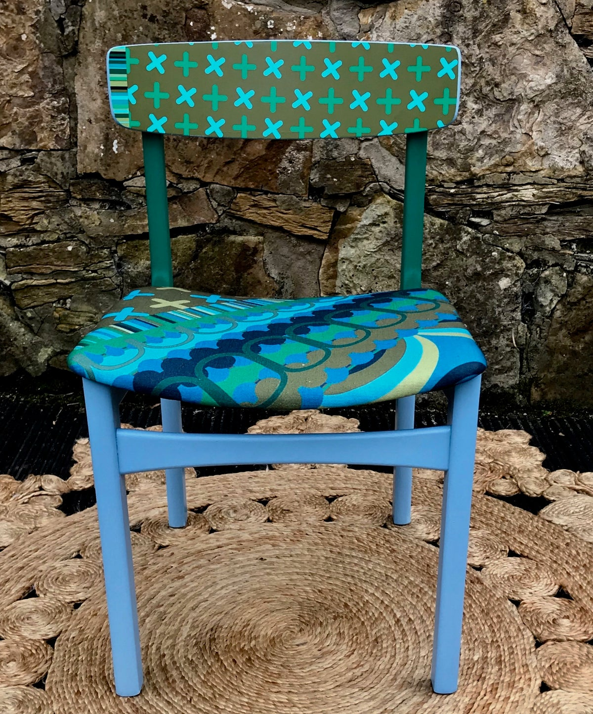 Image of Disc'o' Green/Blue ** 60's G Plan Chair