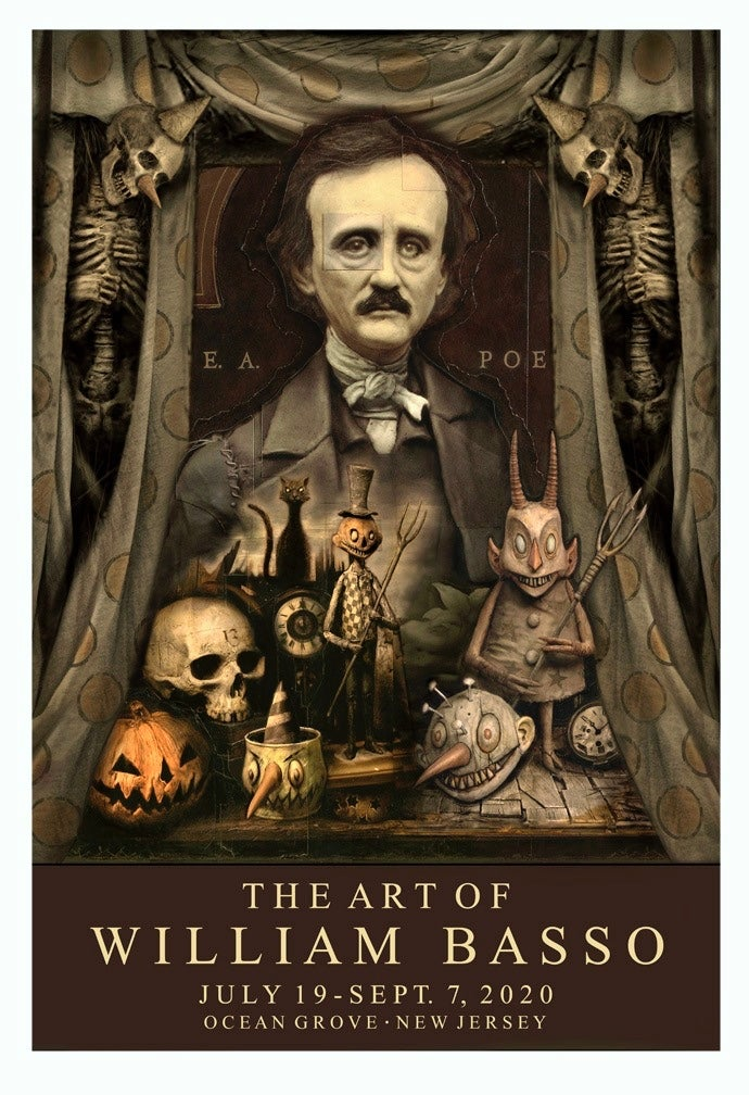 "Image of ""The Art of William Basso"" signed print"
