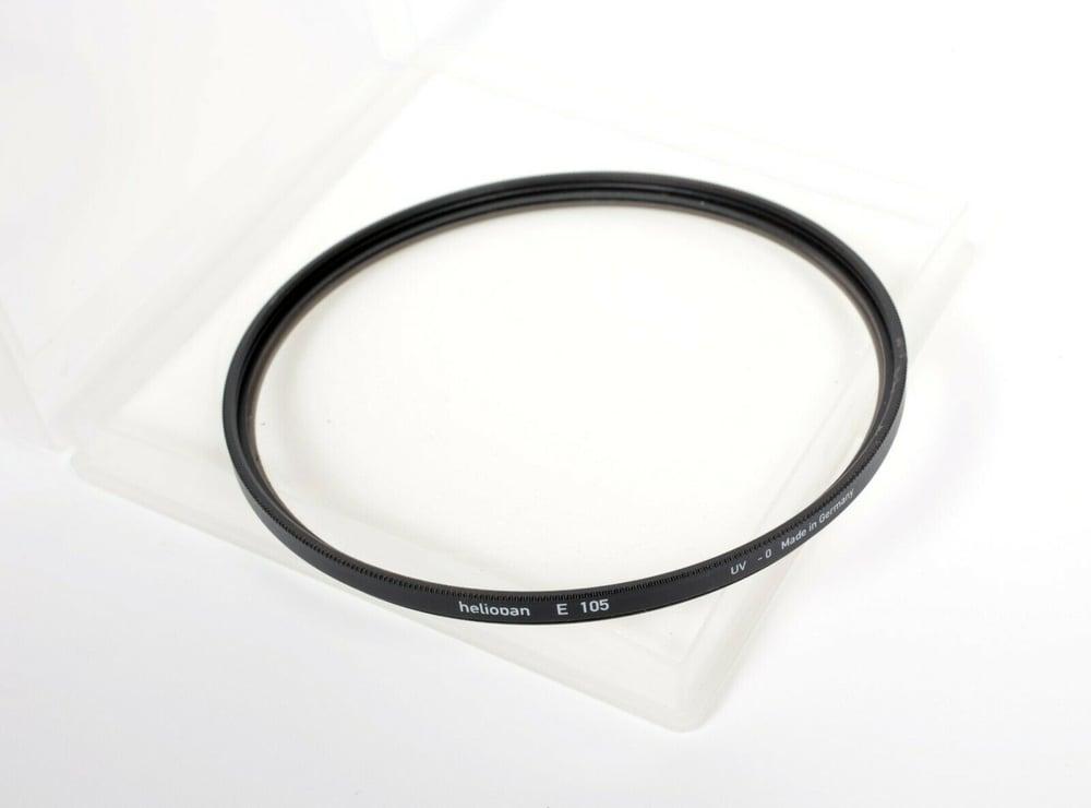 Image of Rodenstock Heliopan 105mm UV Haze 0 MC filter in case