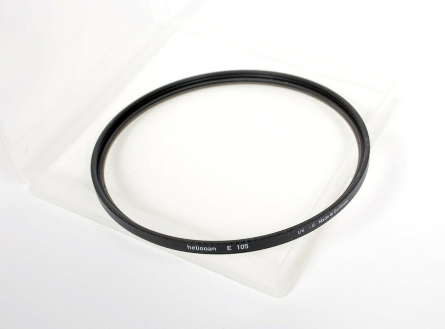 Image of Rodenstock Heliopan 105mm UV Haze 0 MC filter in case