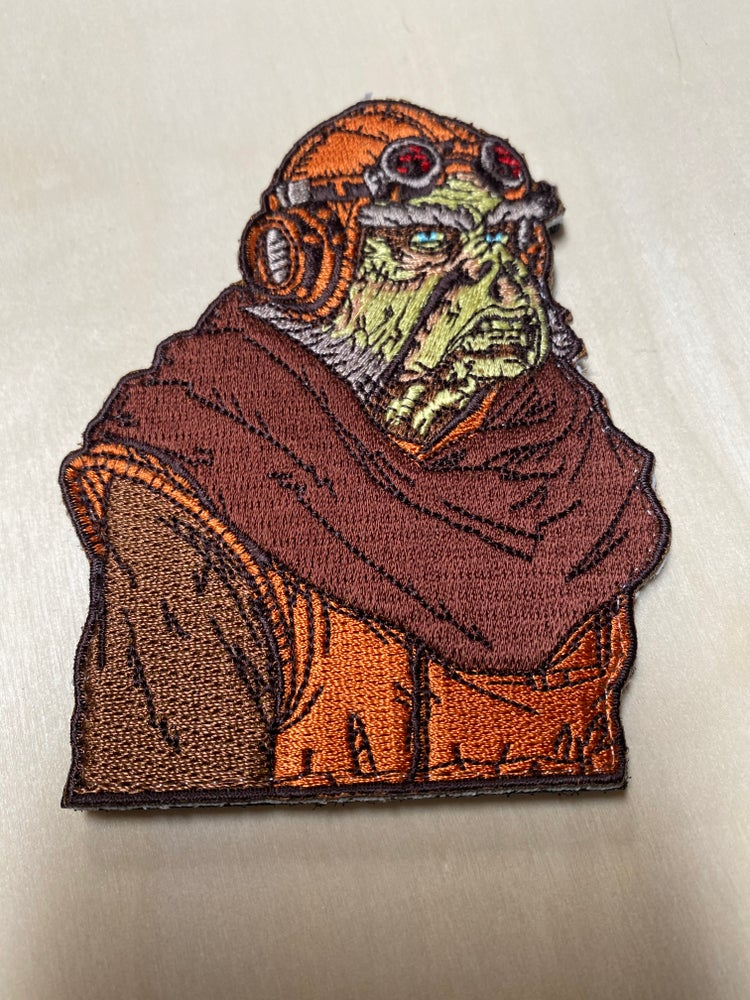 """Image of Kuill The Mandolorian 4"""" Patch I HAVE SPOKEN"""