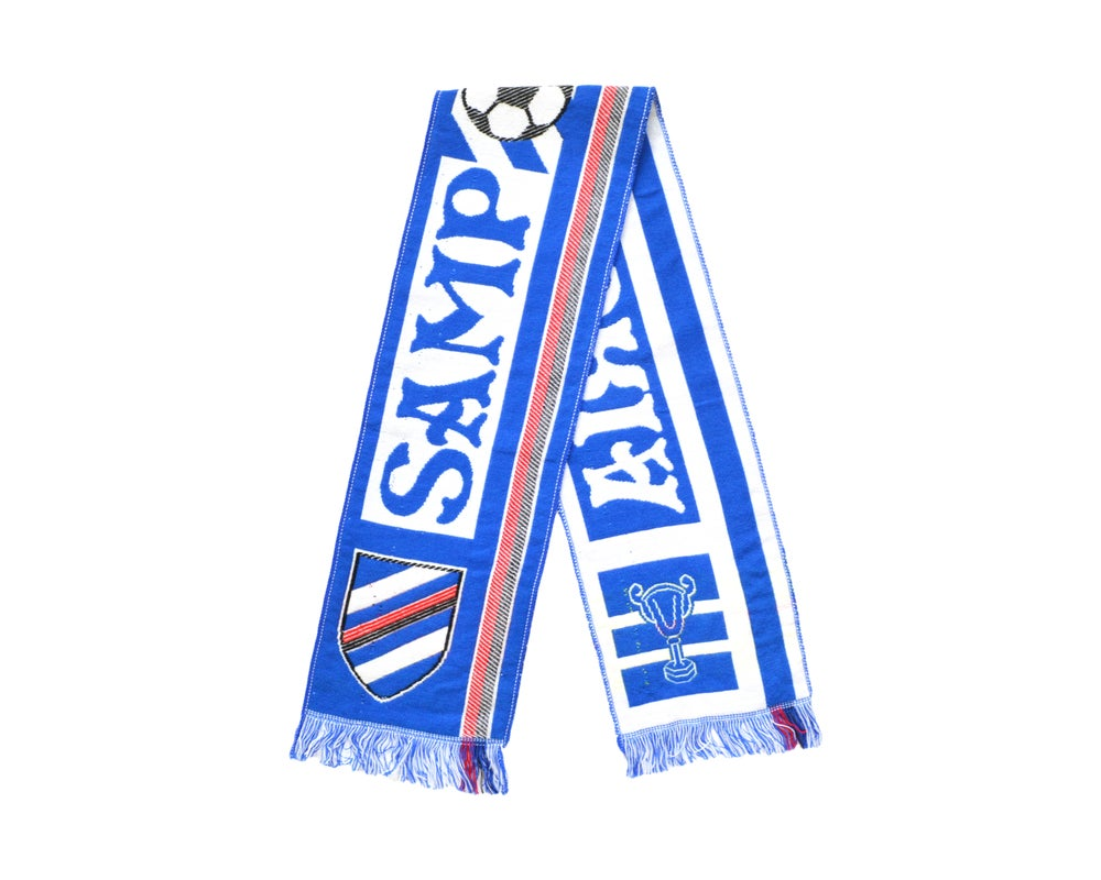Image of Vintage Sampdoria Scarf