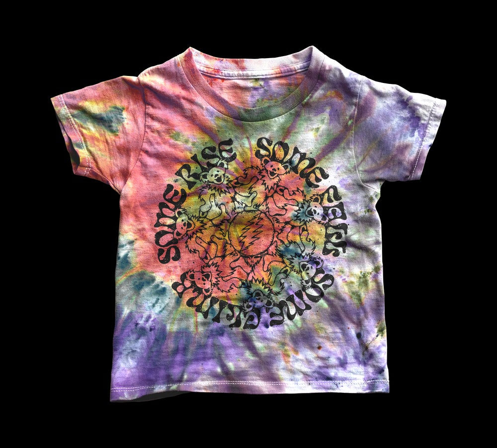 Image of TIE DYED TERRAPIN OWSLEY STEALIE Bootleg Toddler Tee