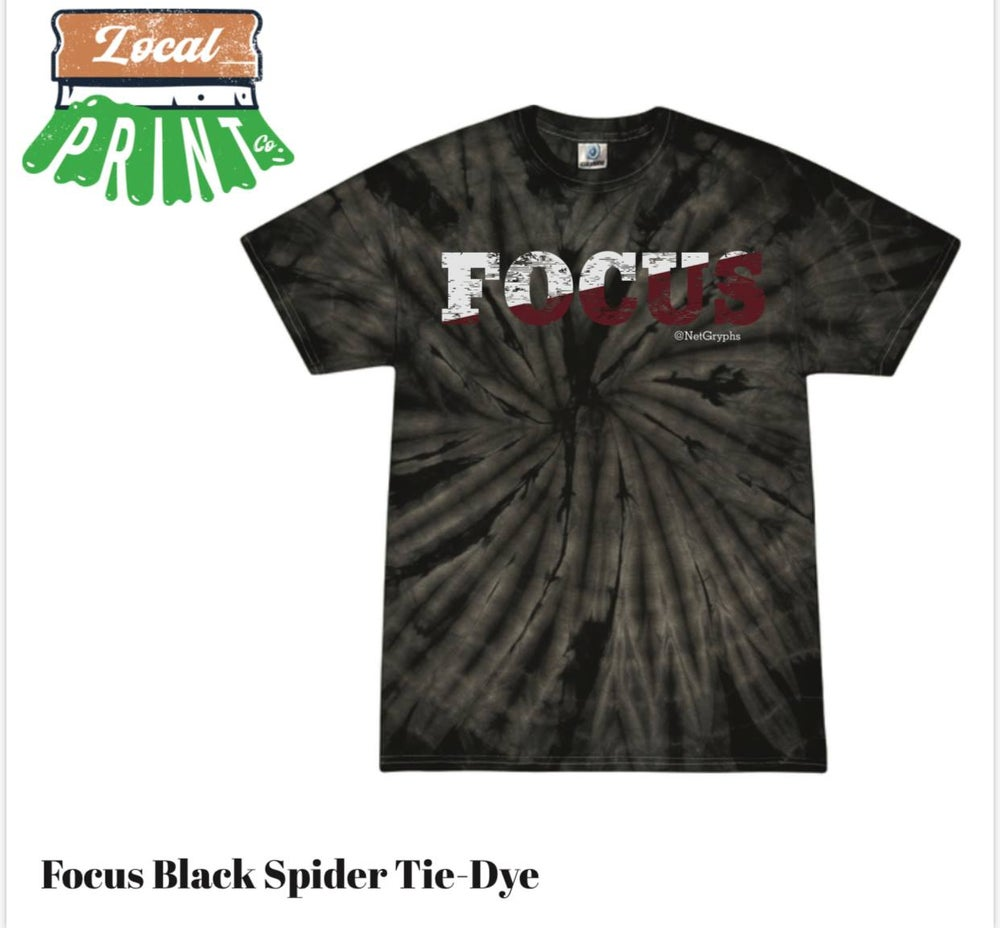 Image of SG FOCUS Tie-Dye S/S Tee Shirt