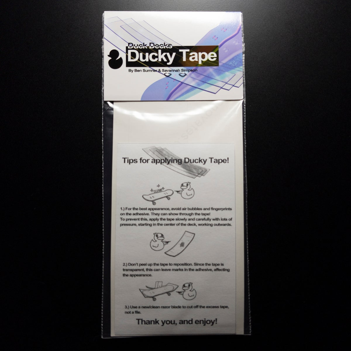 Ducky Tape 3 Pack - 0.5mm