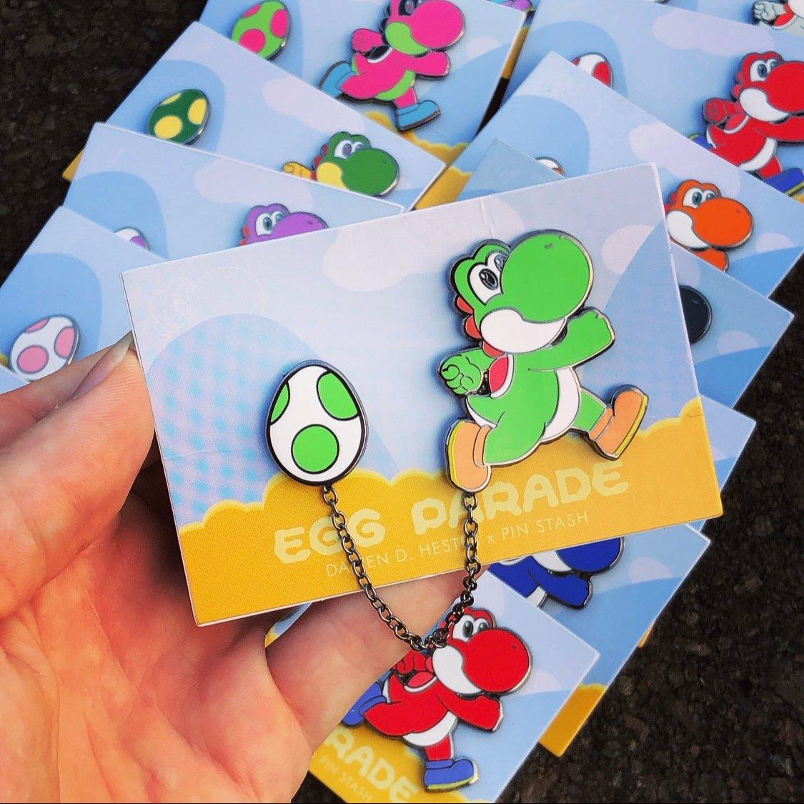 Image of Yoshi & His Egg Parade (2-piece Set)