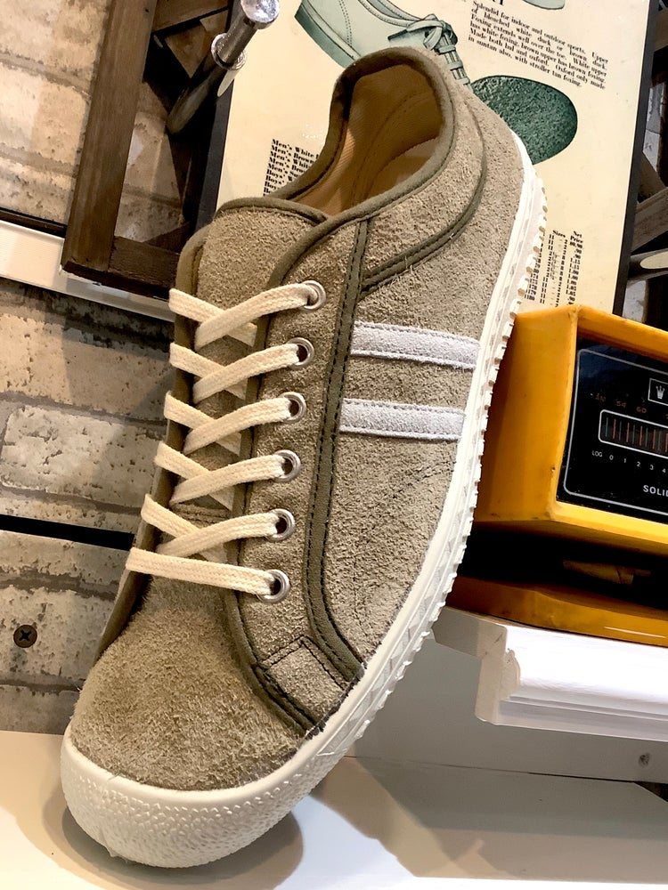 Image of Inn-stant suede lo top sneaker shoes made in Slovakia