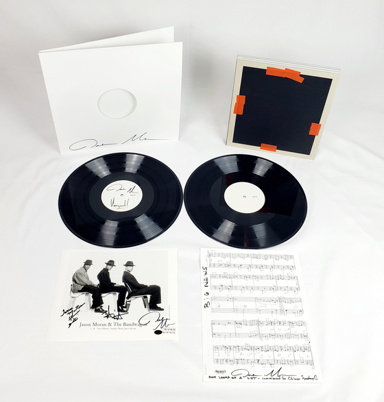 Image of Ultimate Fan Bundle [Jason Moran - Thanksgiving at The Vanguard/2 LPs/Press Photo/Lead Sheet/Book]