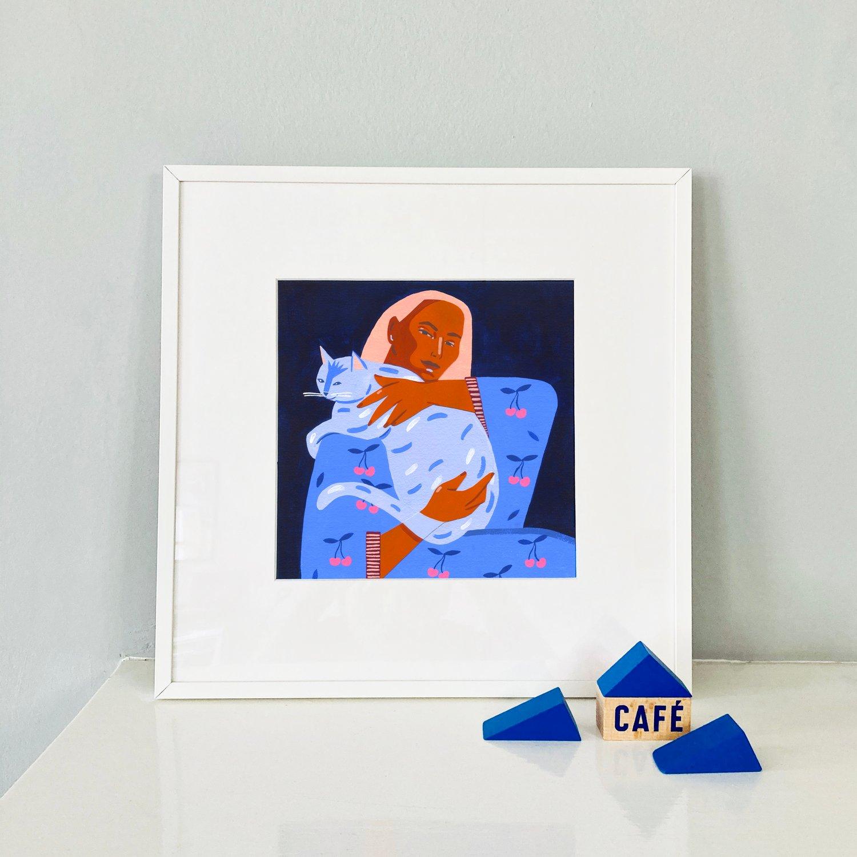 Image of Kiara #2 giclée print