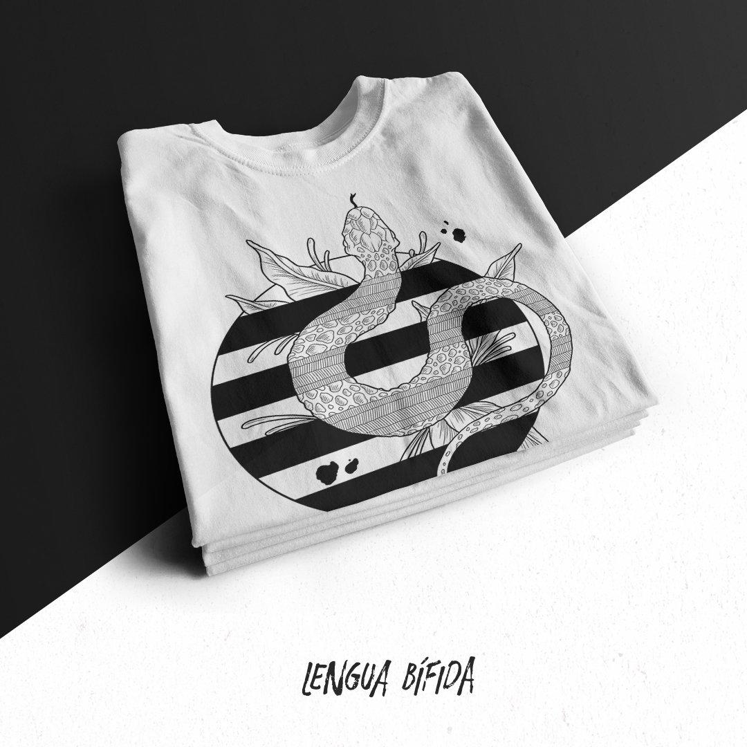"""Image of Camiseta """"Lengua Bífida"""" Unisex"""