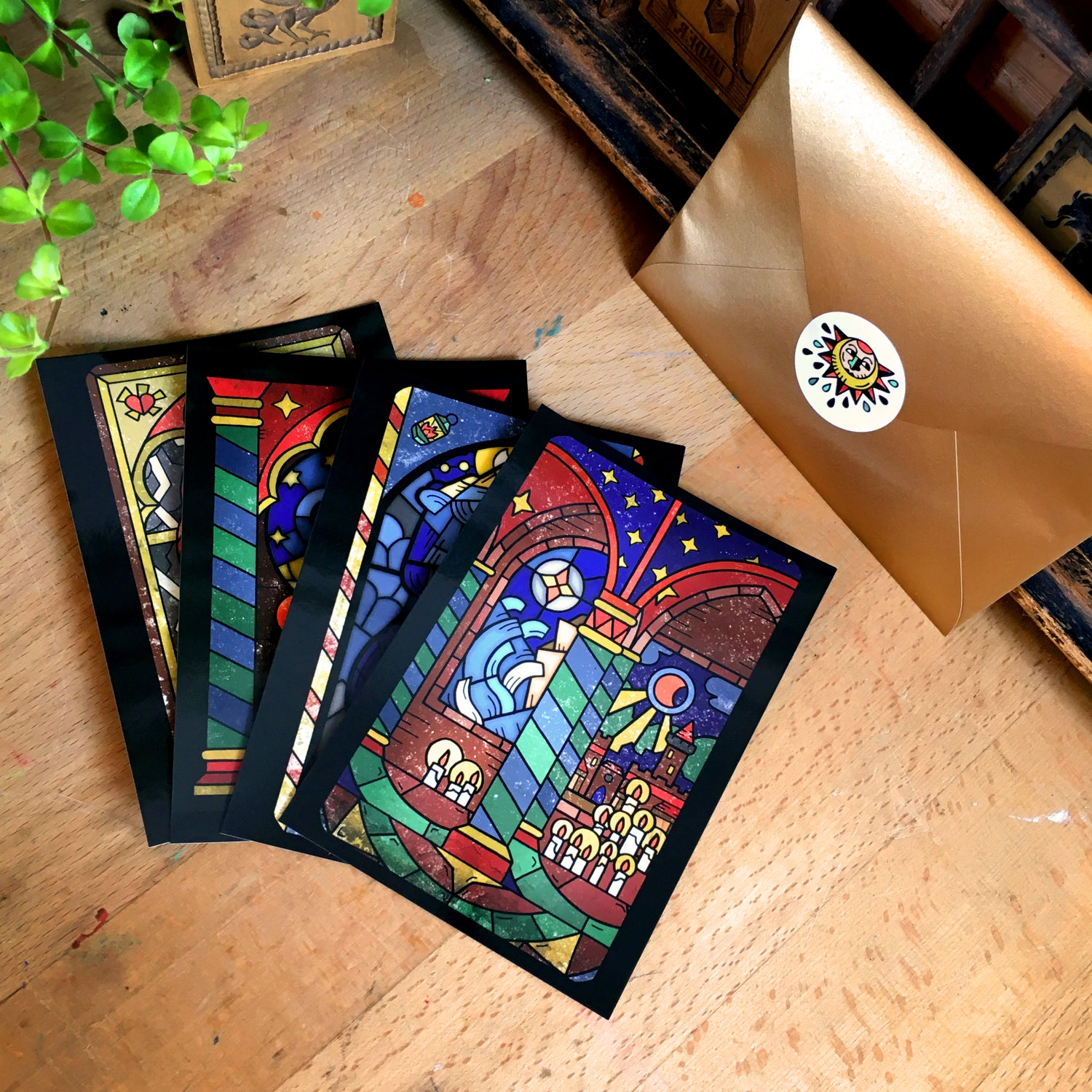 Image of Tarot of devotion Postcards
