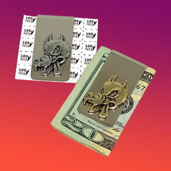 Image of The Wolf Money Clip