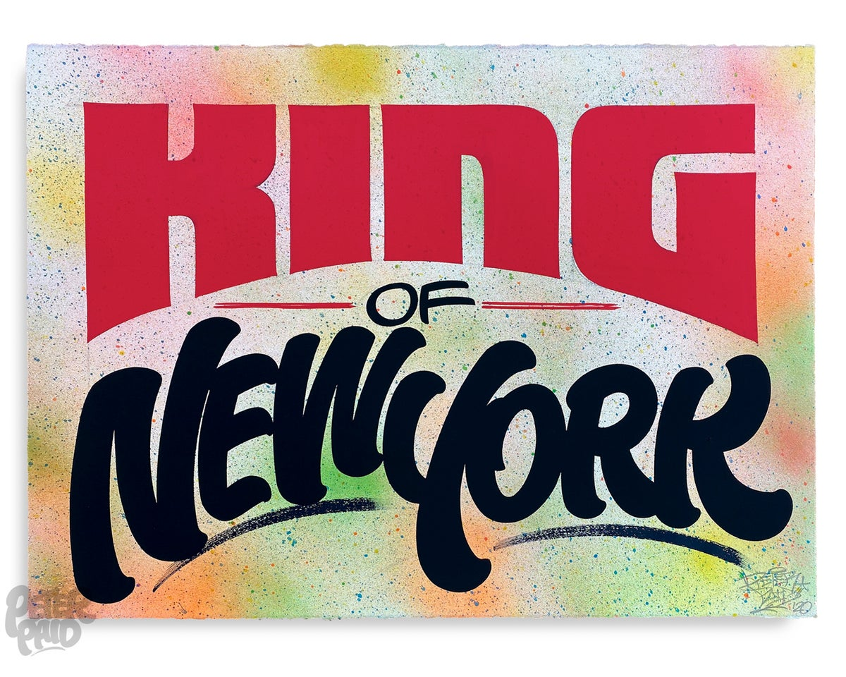 Image of King of New York - Arches Paper