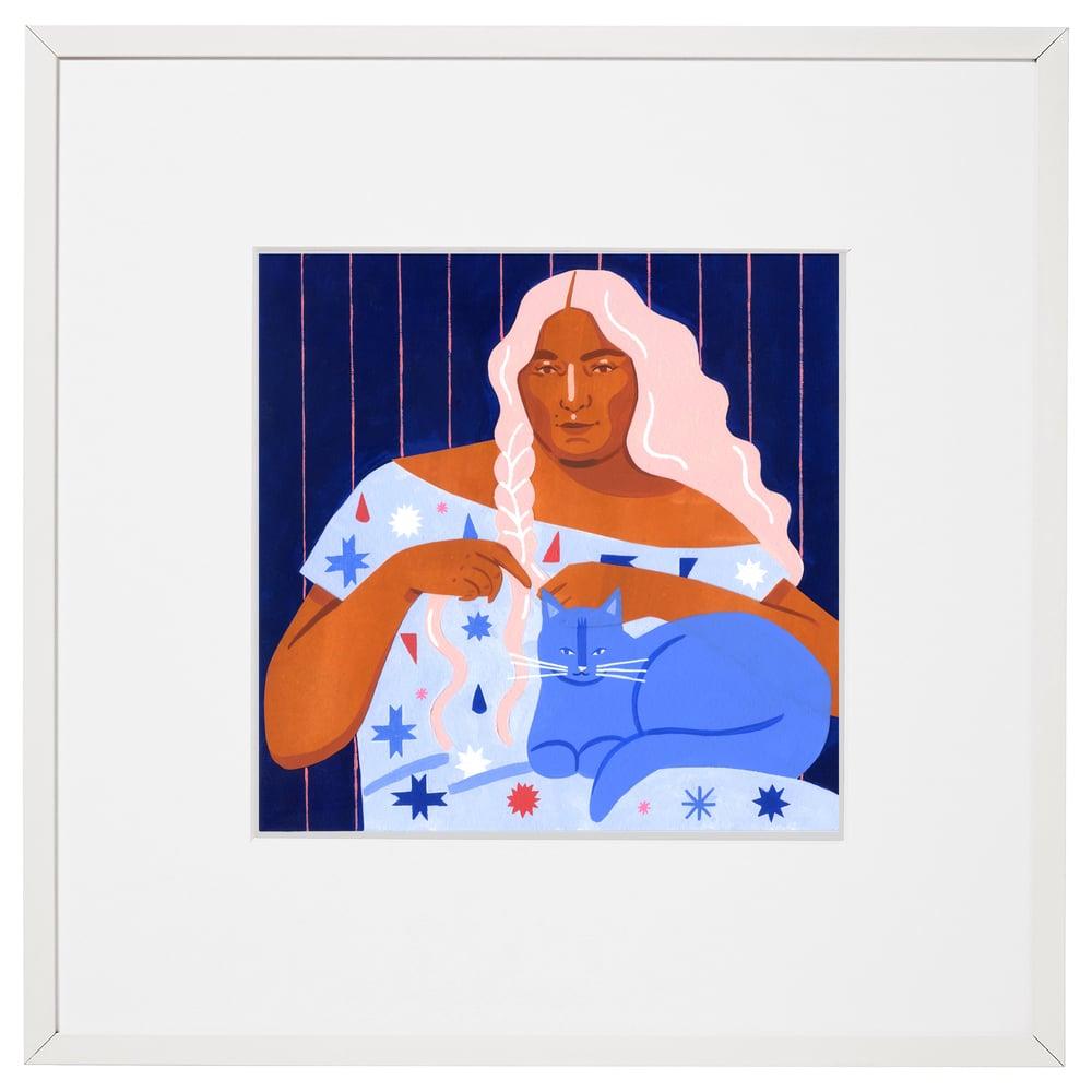 Image of Serena #1 original painting