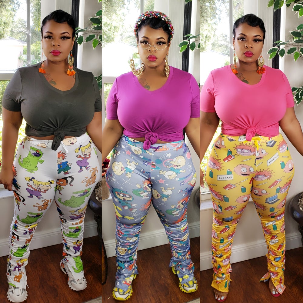 Image of Rugrats Rouched Leggings