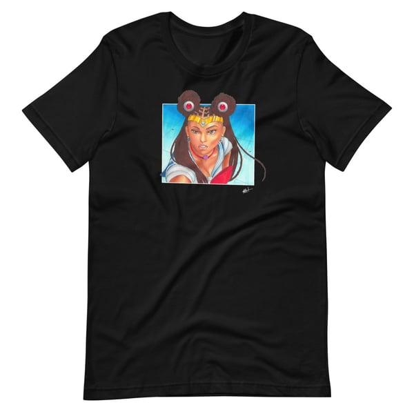 Image of Black Sailor Moon T-shirt Black
